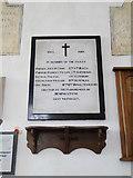 TM1453 : Hemingstone War Memorial (WW1) by Adrian S Pye