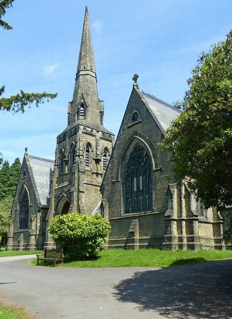 Belper Cemetery chapels