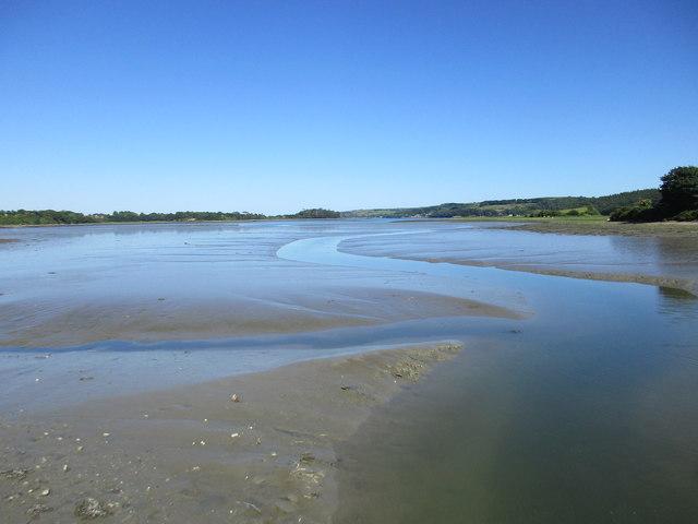 Low tide near Ballintubbrid East