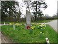 TL7170 : Herringswell War Memorial by Adrian S Pye