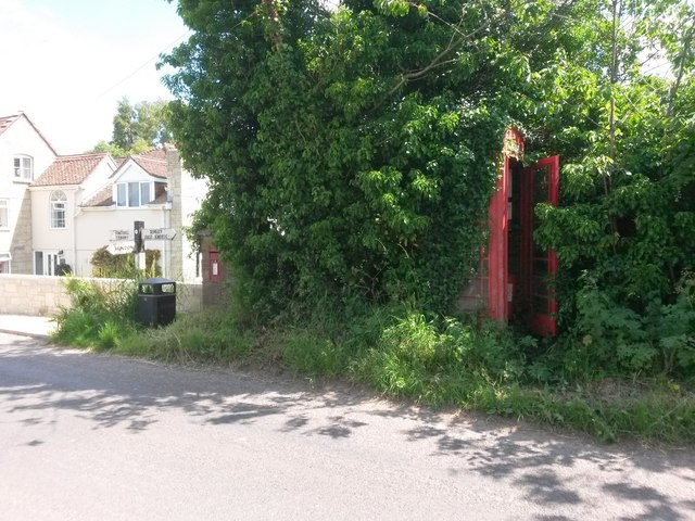 Newtown: a hidden phone box