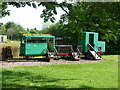 NJ5715 : Children's Playground at Alford Valley Railway Museum by Stanley Howe