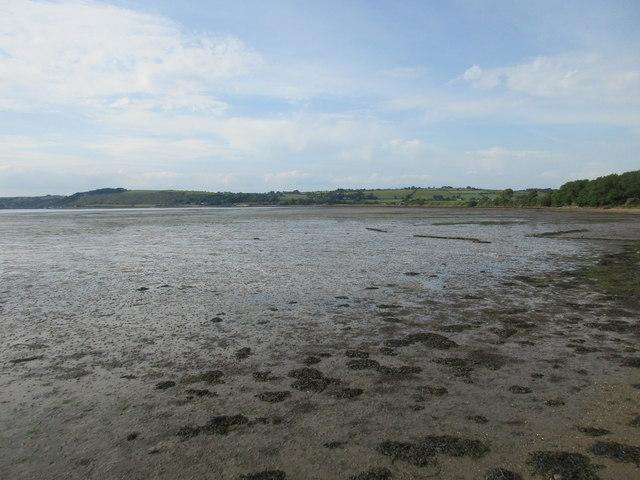 The Blackwater Estuary below Kinsalebeg church