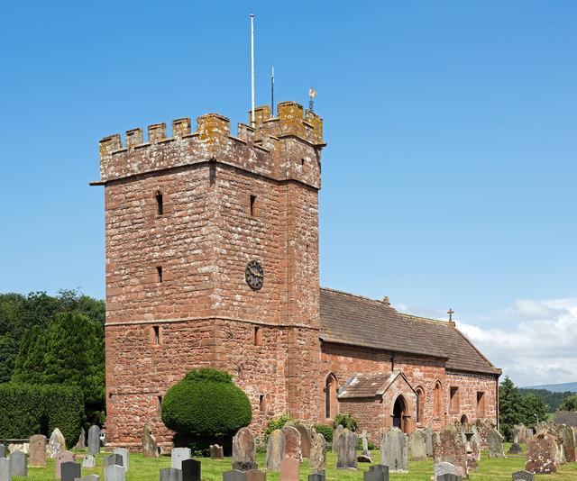 Parish Church of St Cuthbert, Great Salkeld - June 2017 (1)