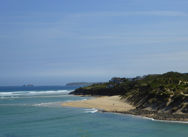 View from St. Michael's Path near Carbis Bay