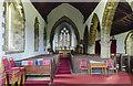 TF3469 : Interior, Holy Trinity church, Hagworthingham by Julian P Guffogg