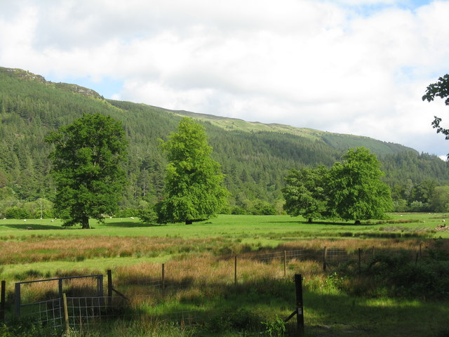 Strath Eachain from Benmore House