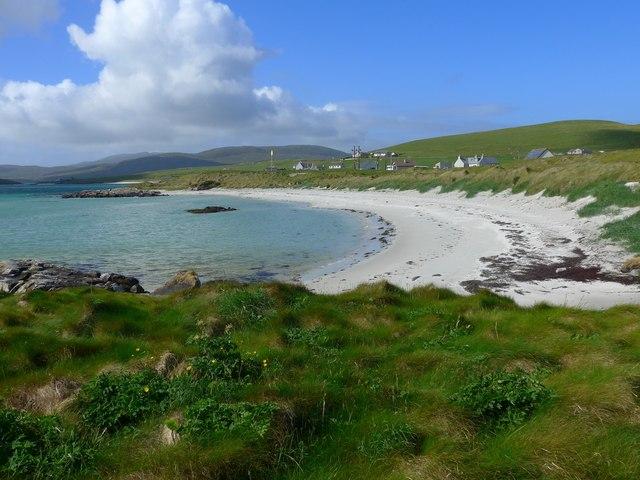 Beach at Eolaigearraidh (Eoligarry)