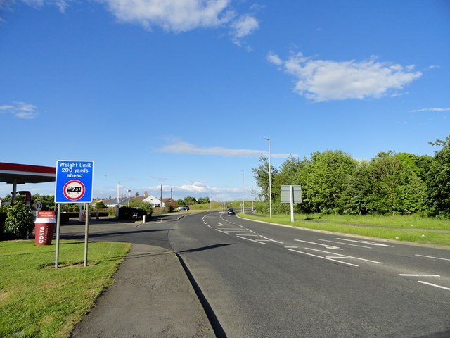 The new road at Leadgate