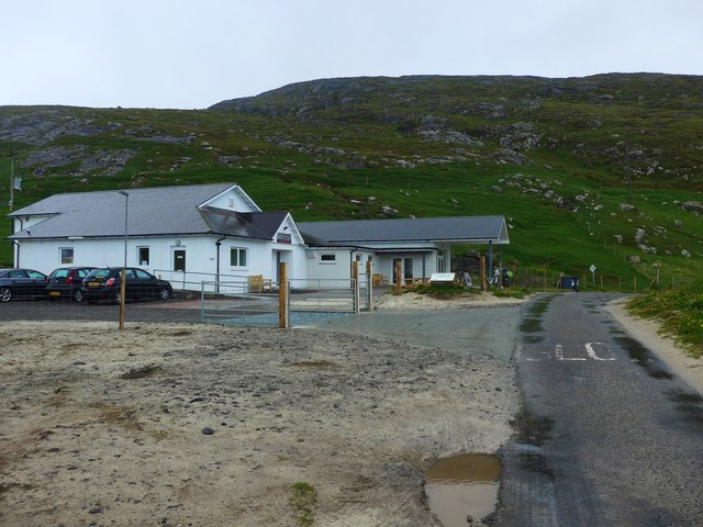 There is a new extension to the Vatersay Community Hall