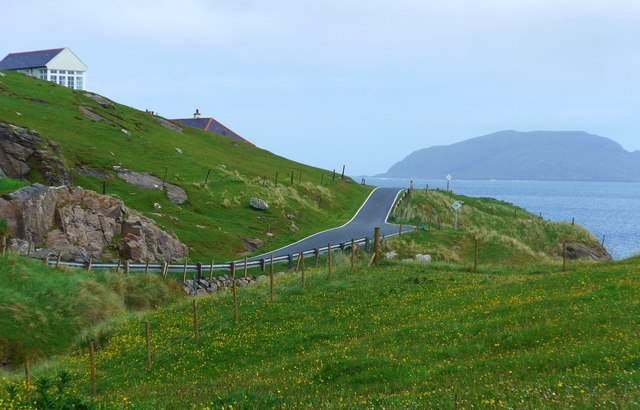 The long and winding road on Vatersay