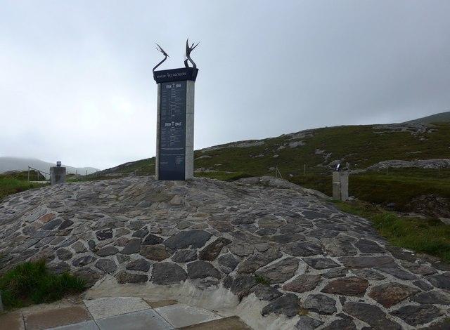 War memorial outside Castlebay