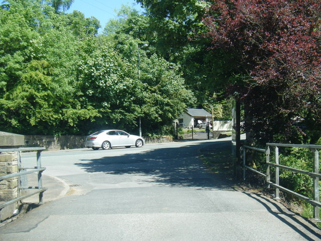Stannybrook Road from Daisy Nook Garden Centre exit