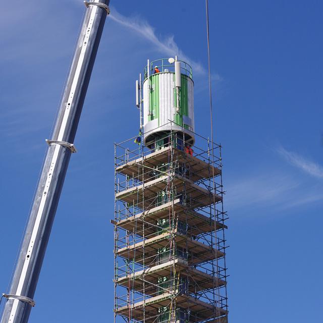 Polo Tower demolition