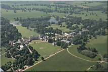 SP6737 : Stowe School and Stowe Park: aerial 2017 by Chris