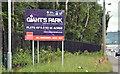 J3477 : Giant's Park sign, Belfast - June 2017(2) by Albert Bridge
