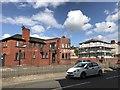 SJ8545 : New bar-restaurant on London Road, Newcastle-under-Lyme by Jonathan Hutchins
