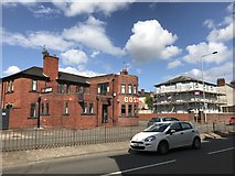 SJ8545 : New bar-restaurant on London Road, Newcastle-under-Lyme by Jonathan Hutchins