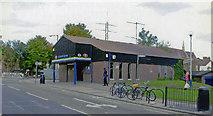 TQ2382 : Entrance to Kensal Green station, 2007 by Ben Brooksbank
