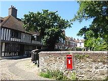 TQ9220 : Church Square, Rye by Marathon
