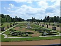 TL0935 : Gardens and statues at Wrest park by Richard Humphrey