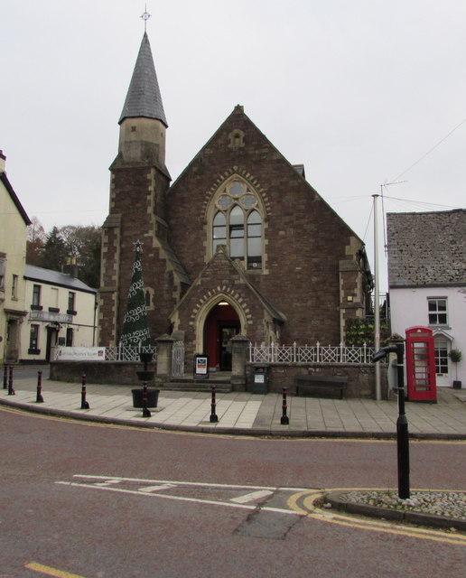 Former Twyn Square Congregational Church (United Reformed), Usk