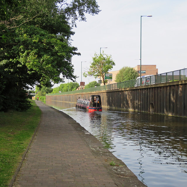 Nottingham Canal: towards the Trent