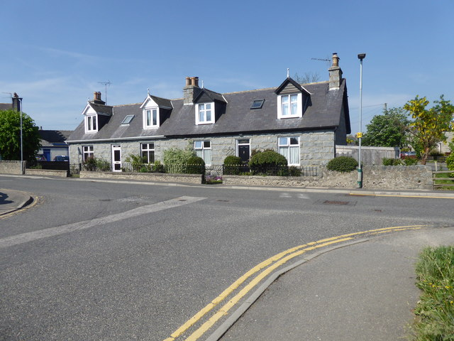 Semi-detached Cottages, Alford