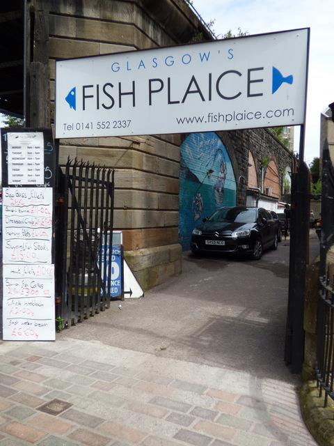 Glasgow's Fish Plaice