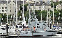 "J5082 : HMS ""Pursuer"", Bangor marina (June 2017) by Albert Bridge"