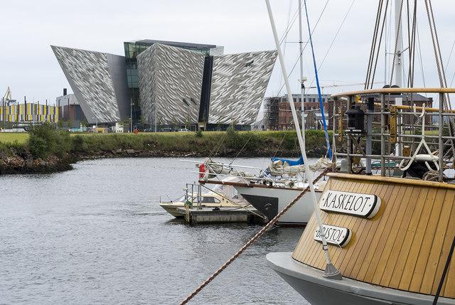 Titanic Belfast and 'Kaskelot'