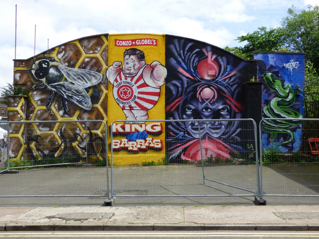 Barras mural