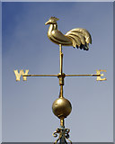 NS5964 : Tolbooth weather vane by Thomas Nugent