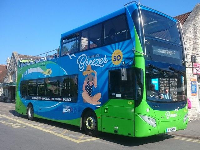 It's a breeze by bus