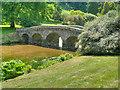 ST7733 : The Palladian Bridge, Stourhead Gardens by David Dixon