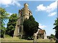 SP9626 : Hockliffe, St Nicholas by Dave Kelly