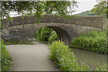 SK3056 : A Canal Bridge by Malcolm Neal