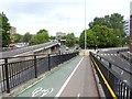 NZ2564 : Camden Street Footbridge by Oliver Dixon