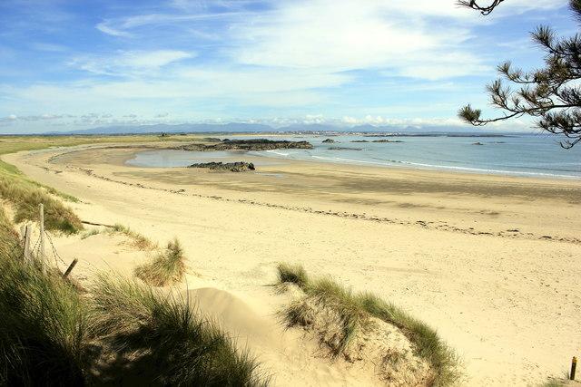 Traeth Llydan and Silver Bay