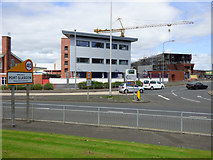 NS3274 : Building a ship in Port Glasgow by Thomas Nugent