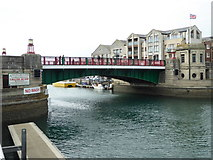 SY6778 : Town Bridge, Weymouth by Chris Allen