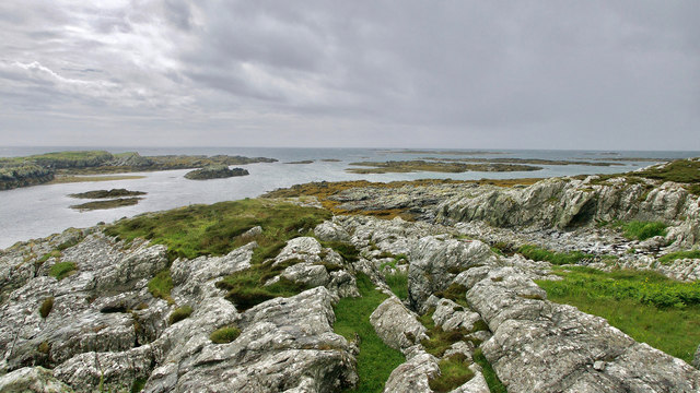 End of the Ardskenish peninsula, Colonsay
