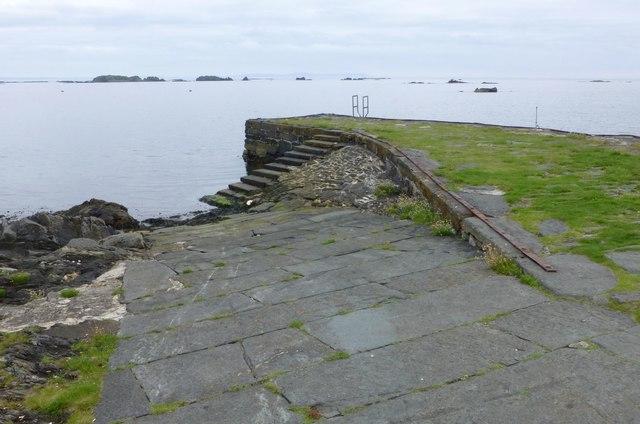 Old pier at Ardbeg