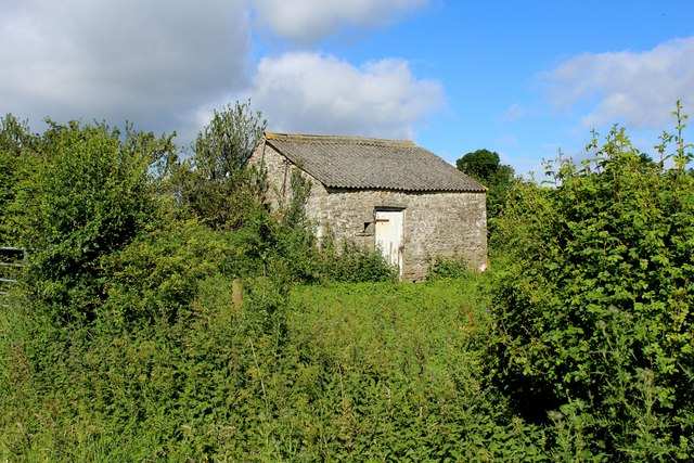Small Stone Barn near Myre Keld Farm