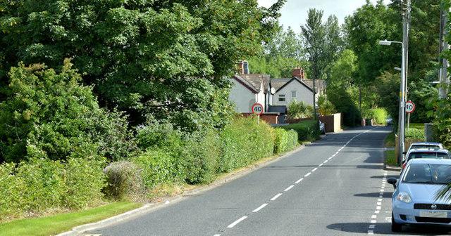 The Craigdarragh Road, Ballyrobert, Helen's Bay (June 2017)