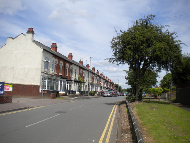 South end of Yew Tree Lane, South Yardley