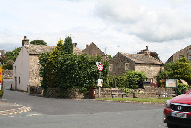 Salterforth. A divided village