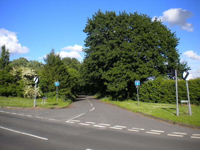 West end of Fox Hill Road, Roughley