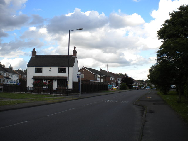 West end of Slade Road, Roughley