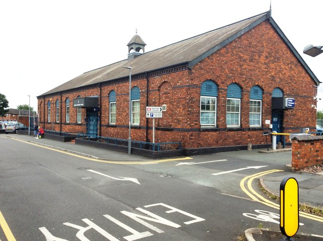 The British Transport Police Office, Crewe